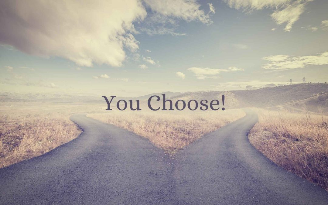 choose between two paths